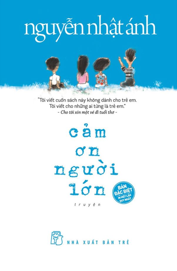 Cảm ơn người lớn (bìa cứng) - Nguyễn Nhật Ánh