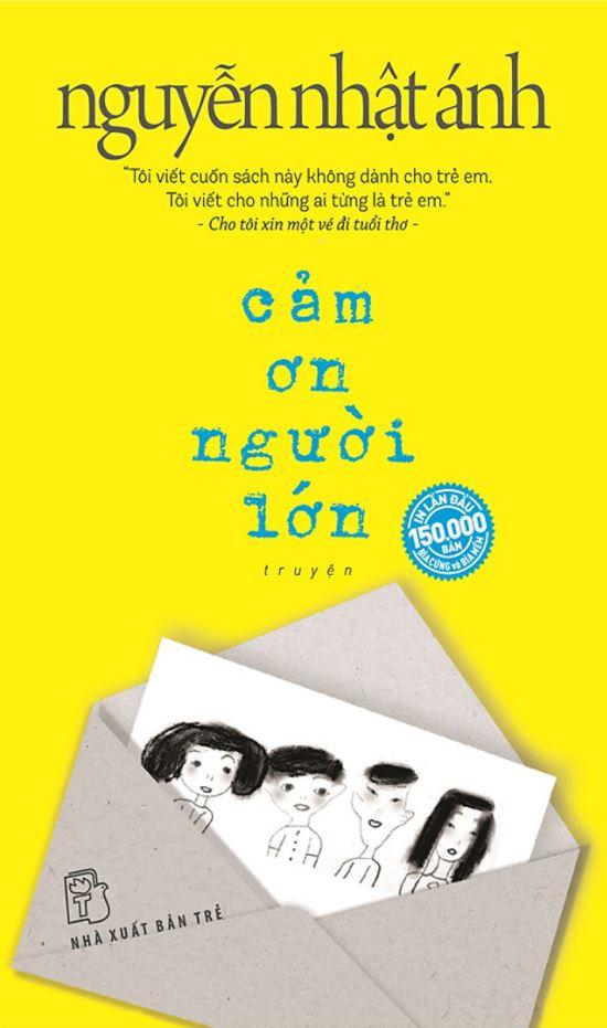Cảm ơn người lớn (bìa mềm) - Nguyễn Nhật Ánh