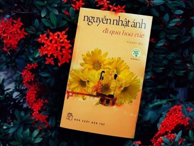 Có người nói hoa cúc vàng đem lại niềm vui cho tâm hồn - Đi qua hoa cúc - Nguyễn Nhật Ánh