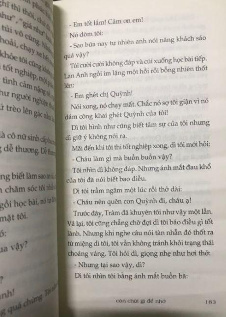 Em tốt lắm, cảm ơn em - Còn chút gì để nhớ - Nguyễn Nhật Ánh