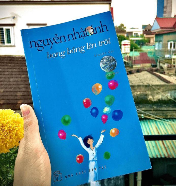 Huyền My review Bong bóng lên trời - Nguyễn Nhật Ánh