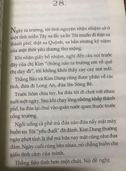 Ngày ra trường tôi tình nguyện - Còn chút gì để nhớ - Nguyễn Nhật Ánh