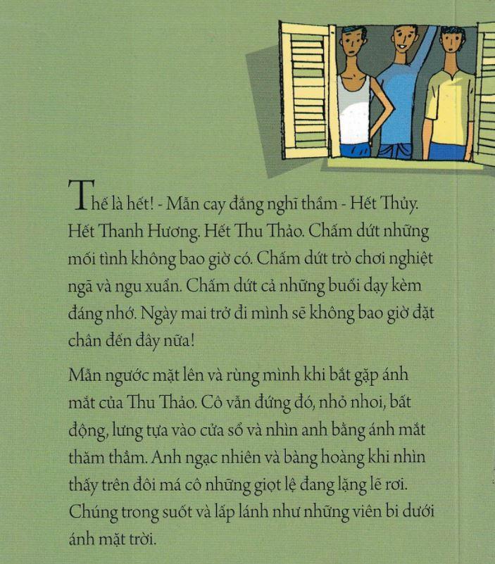 Thế là hết, Mẫn cay đắng nghĩ thầm - Phòng trọ ba người - Nguyễn Nhật Ánh