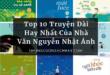 Top 10 Truyện Dài Hay Nhất Của Nhà Văn Nguyễn Nhật Ánh