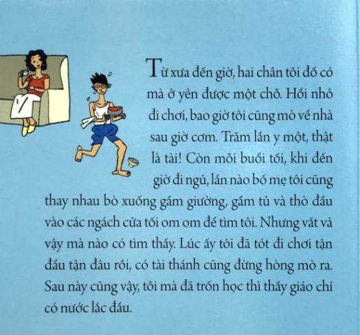 Từ xưa đến giờ, hai chân tôi đố có ở yên một chỗ - Chuyện cổ tích dành cho người lớn - Nguyễn Nhật Ánh