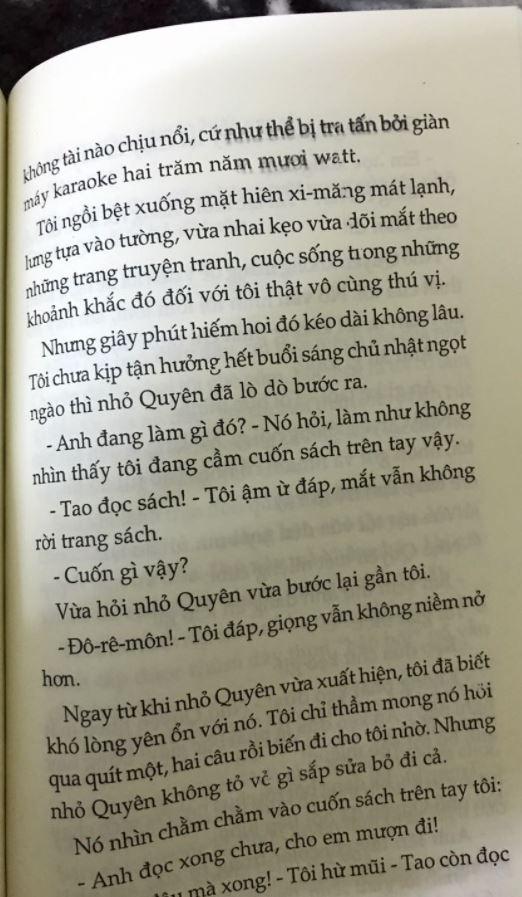 không tài nào chịu nổi - Út quyên và tôi - Nguyễn Nhật Ánh