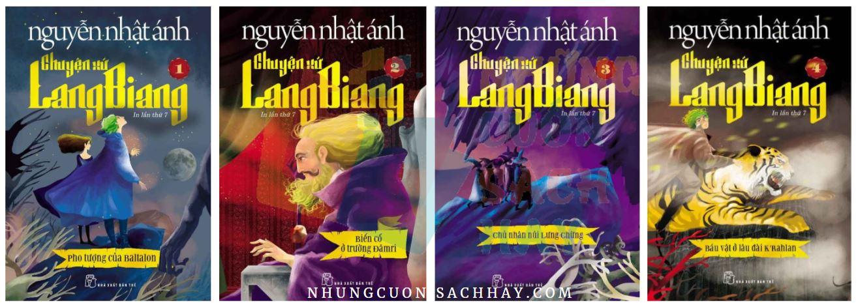 Chuyện xứ lang biang (trọn bộ 4 cuốn) - Nguyễn Nhật Ánh