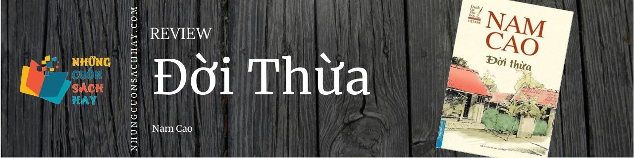 Review sách Đời thừa - Nam Cao
