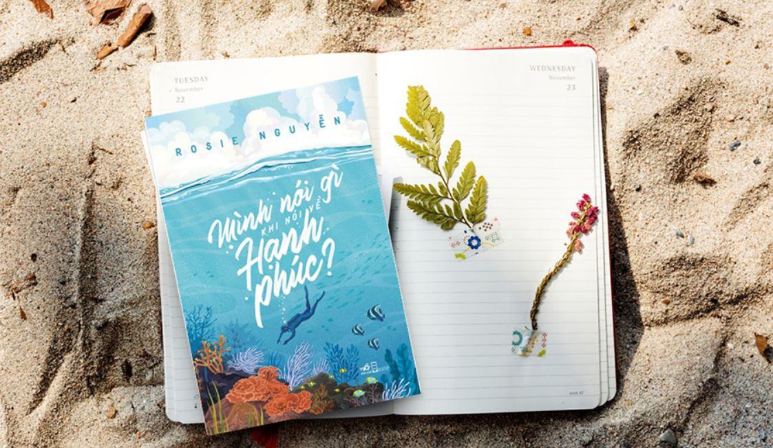 Giới thiệu sách Mình Nói Gì Khi Nói Về Hạnh Phúc - Rosie Nguyễn