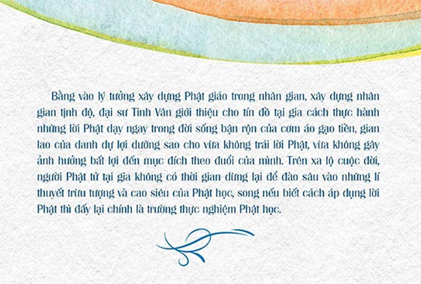 Lý tưởng xây dựng Phật giáo trong nhân gian, xây dựng nhân gian tịnh độ - Có Phật Trong Đời - Đại sư Tinh Vân