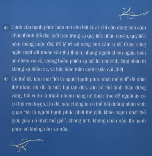 Trích dẫn sách Pháp Môn Hạnh Phúc - Tinh Thần - Đại sư Tinh Vân 8