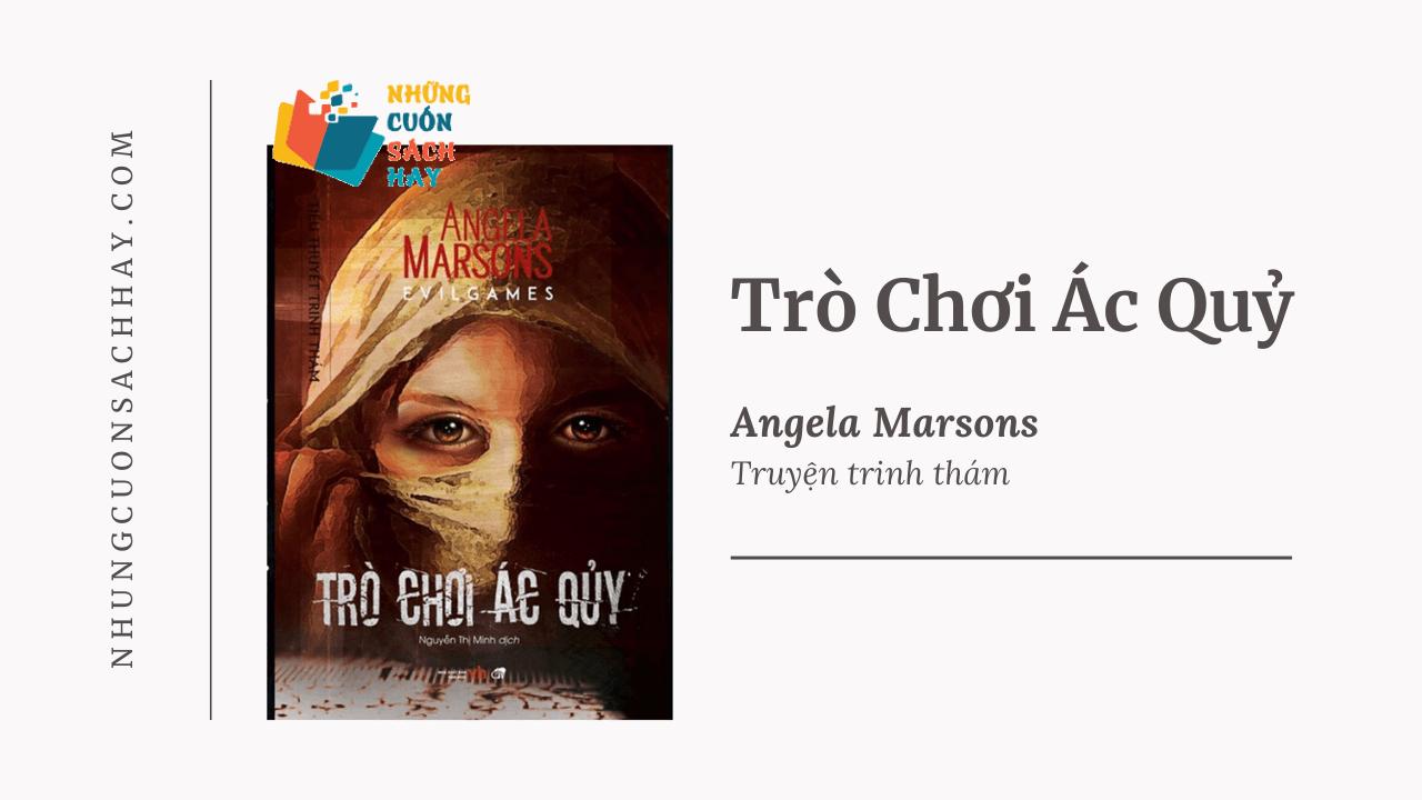 Trích dẫn sách Trò Chơi Ác Quỷ - Angela Marsons
