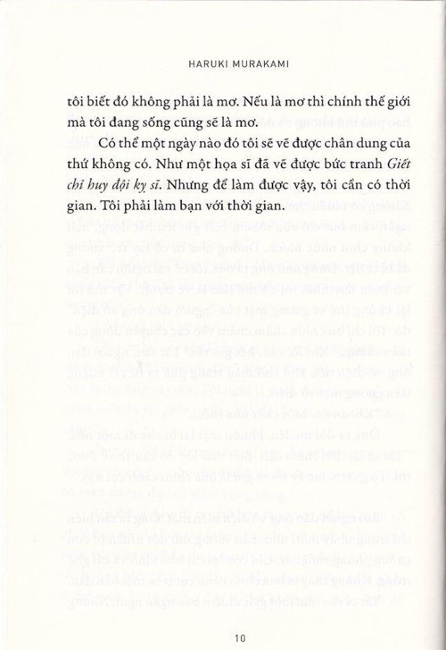 Trích đoạn đầu giết chỉ huy đội kỵ sĩ của tiểu thuyết gia Haruki Murakami 4