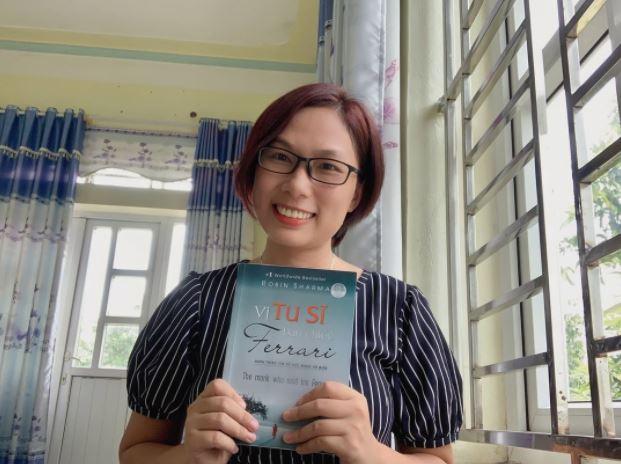 Bạn Kim Trần review sách Vị Tu Sĩ Bán Chiếc Ferrari - Robin Sharma