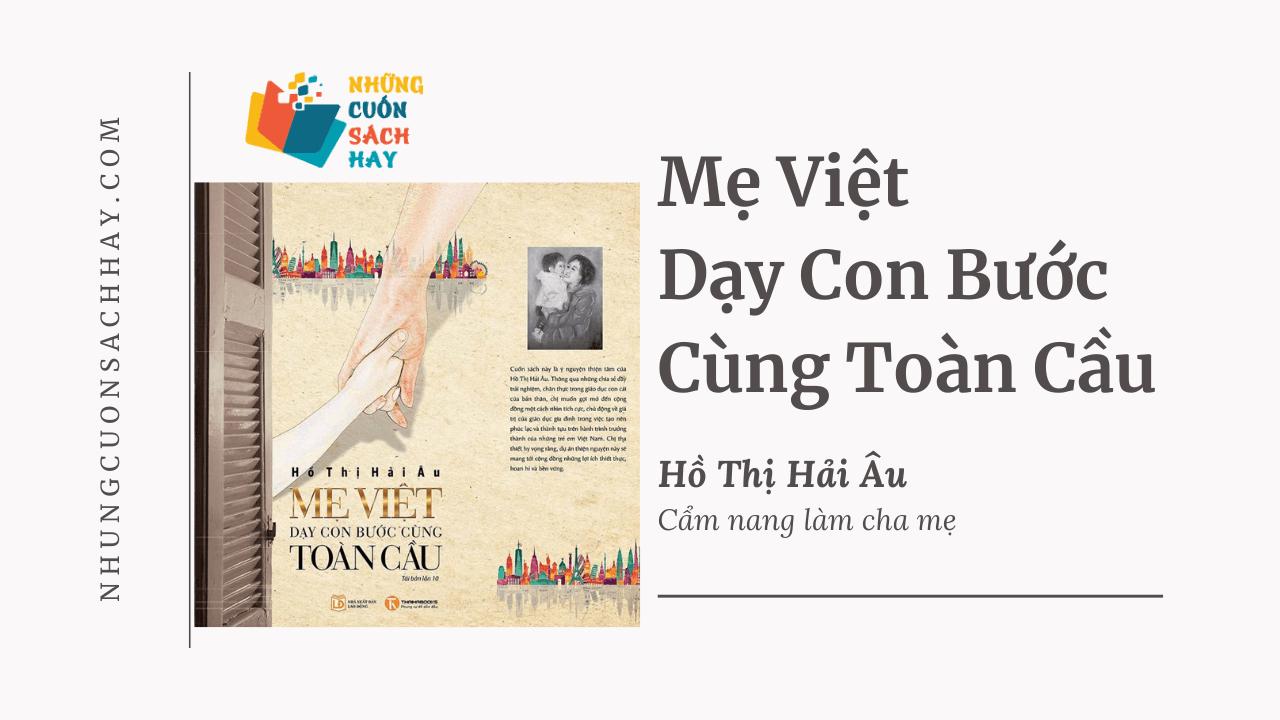 Trích dẫn sách Mẹ Việt Dạy Con Bước Cùng Toàn Cầu - Hồ Thị Hải Âu