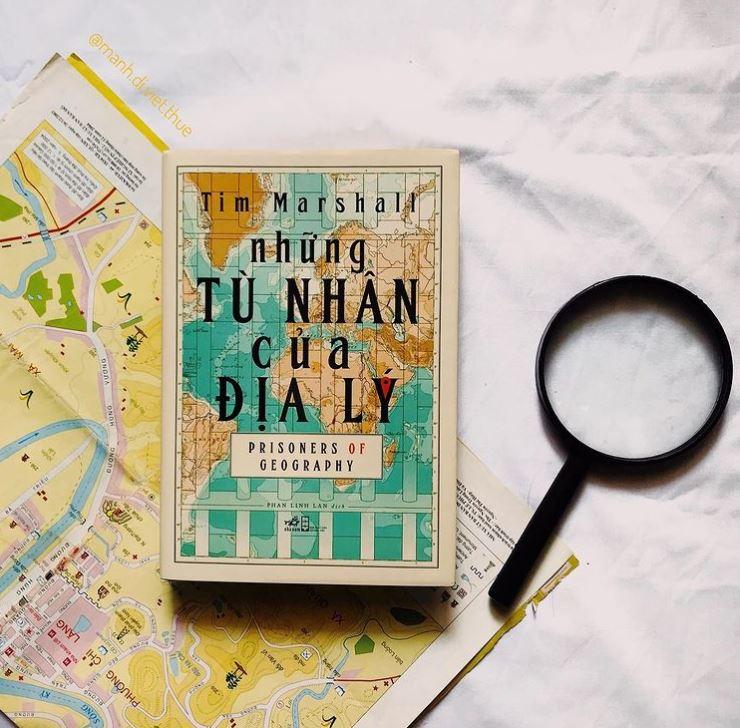 Minh Anh Trần review sách Những Tù Nhân Của Địa Lý - Tim Marshall