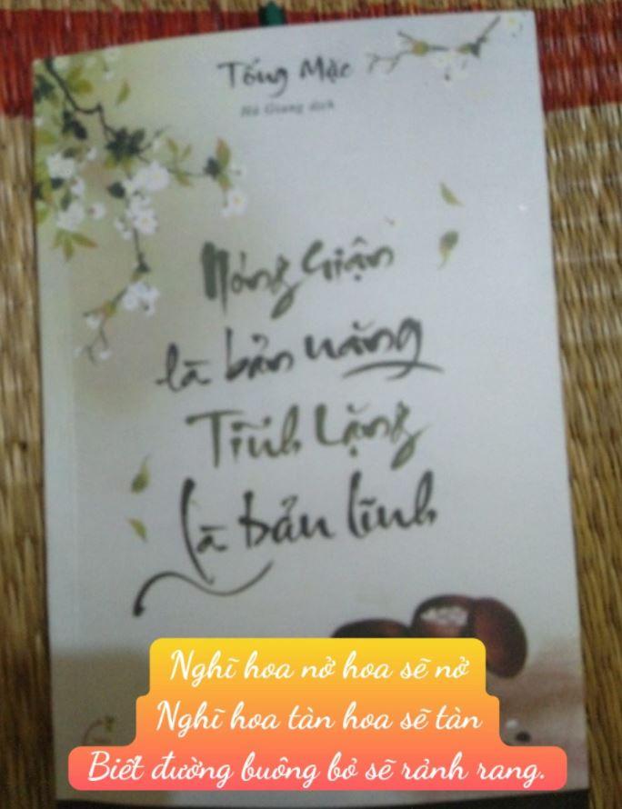 Phạm Hoài review sách Nóng Giận Là Bản Năng, Tĩnh Lặng Là Bản Lĩnh - Tống Mặc