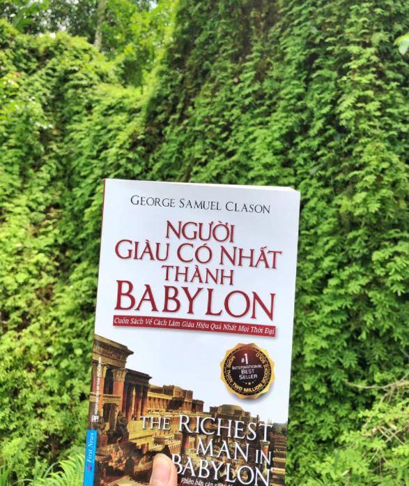 Quốc Tiến review sách Người Giàu Có Nhất Thành Babylon - George Samuel Clason