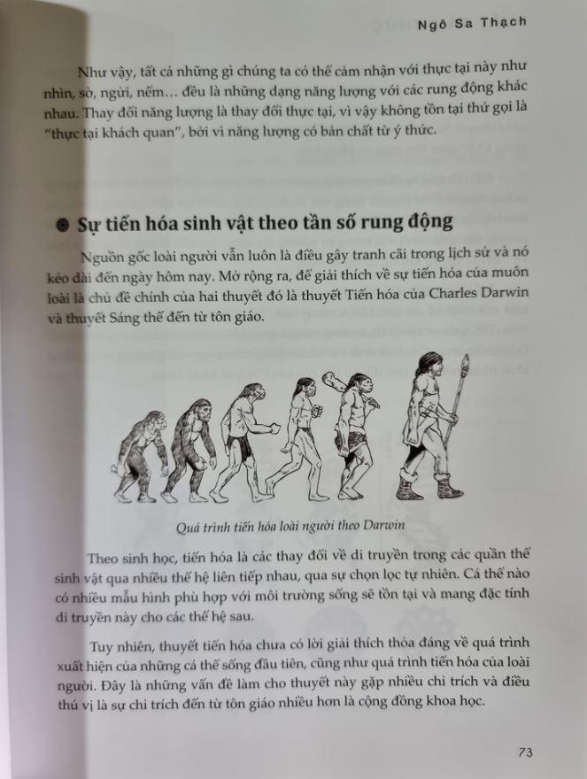 Sự tiến hóa - Luật Tâm Thức - Giải Mã Ma Trận Vũ Trụ - Ngô Sa Thạch