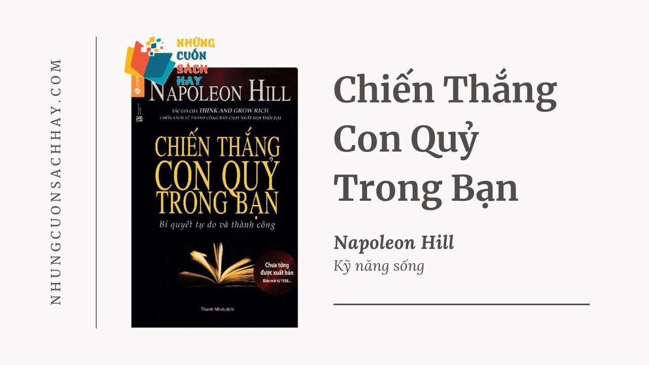 Trích dẫn sách Chiến Thắng Con Quỷ Trong Bạn - Napoleon Hill