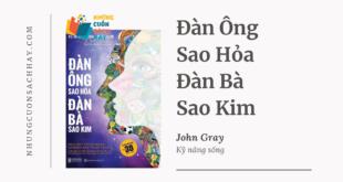 Trích dẫn sách Đàn Ông Sao Hỏa Đàn Bà Sao Kim - John Gray