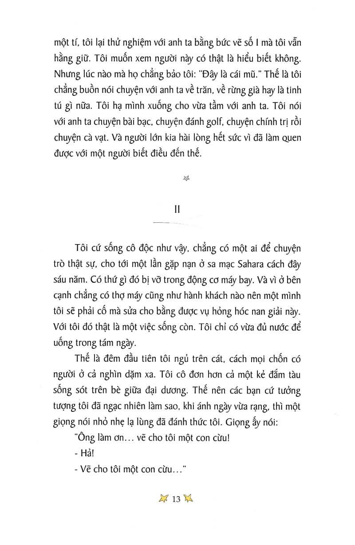 Trích đoạn sách Hoàng Tử Bé 3 - Antoine De Saint-Exupéry