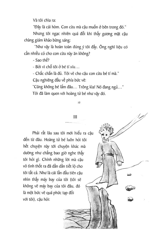 Trích đoạn sách Hoàng Tử Bé 7 - Antoine De Saint-Exupéry