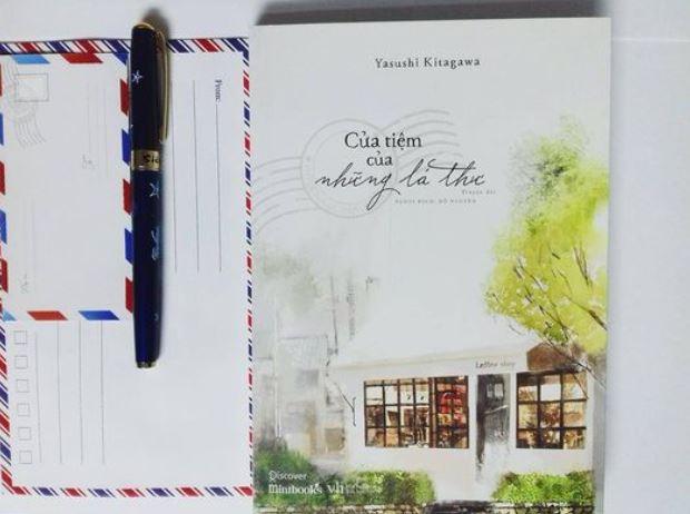 Tuyết Phạm review sách Cửa Tiệm Của Những Lá Thư - Yasushi Kitagawa