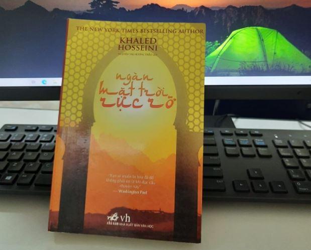 Đàm Như Quỳnh review sách Ngàn Mặt Trời Rực Rỡ - Khaled Hosseini