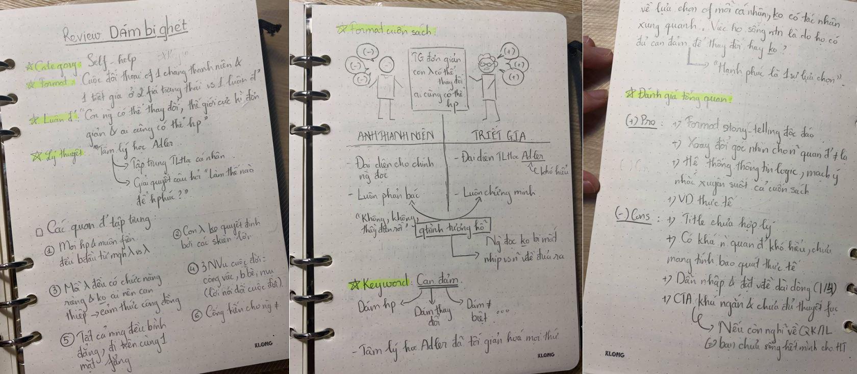 Phạm Thái Bảo Ngọc review sách Dám Bị Ghét - Kishimi Ichiro và Koga Fumitake