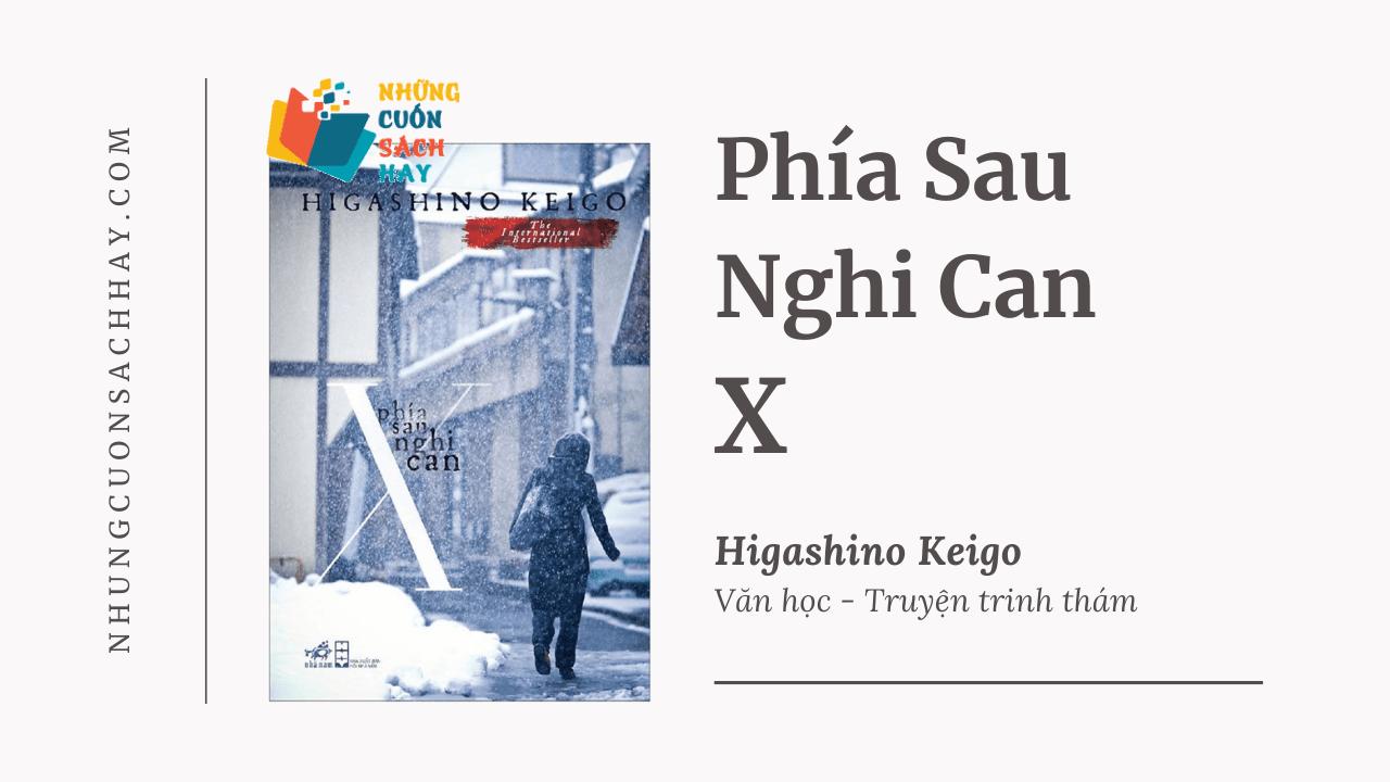 Trích dẫn sách Phía Sau Nghi Can X - Higashino Keigo
